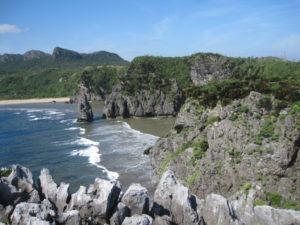 再び辺戸岬からの景色