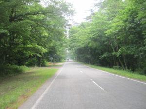 大山への道