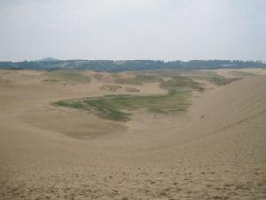 鳥取砂丘広大