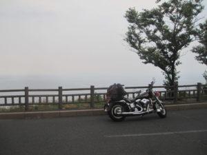 経ヶ岬バイク