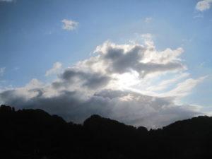 6月2日の朝空