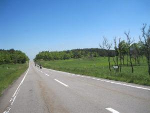 遠くからバイク阿蘇