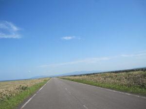 エサヌカ線の道