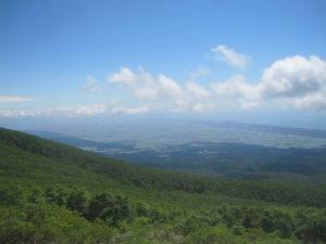 鳥海山展望