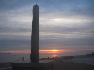 最北端の地朝日