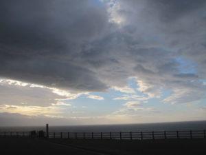 初山別の雲