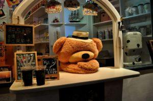 暇な喫茶店